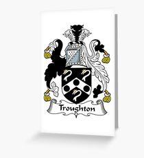 Troughton  Greeting Card