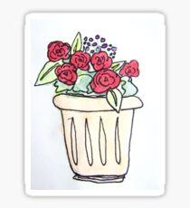 Flower Watercolour 6 Sticker