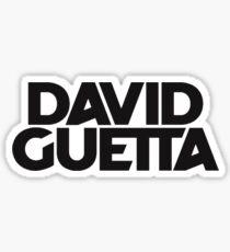 David Guetta Sticker