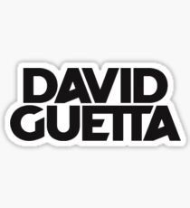 David Guetta Sticker