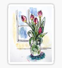 Flower Watercolour 7 Sticker