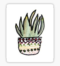 Succulent Watercolour 6 Sticker