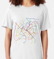Paris Metro Slim Fit T-Shirt