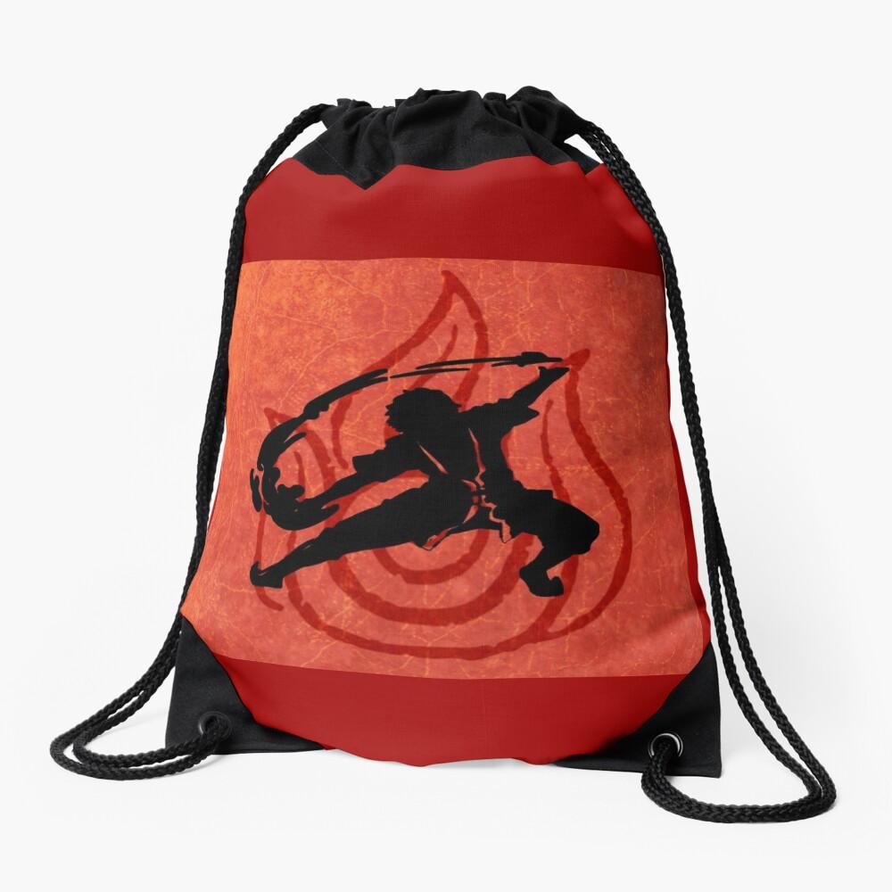 Avatar Fire Bender Drawstring Bag