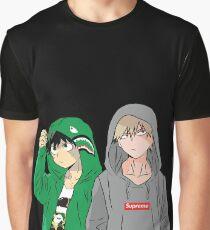 HYPEBEAST HERO ACADEMIA Graphic T-Shirt