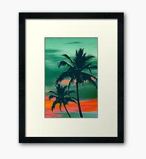 Palmen Gerahmtes Wandbild