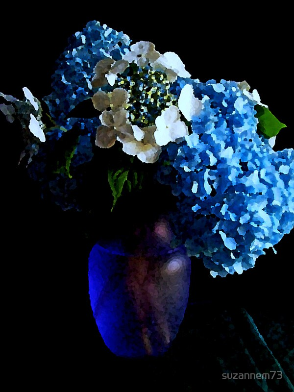 Still Life in Blue by suzannem73