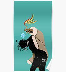 "LA FLAME ""XI"" Poster"