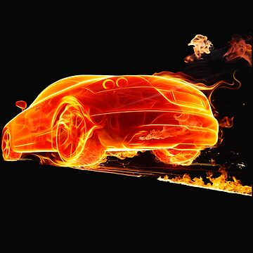 CAR ON FIRE by jesuspuig2013