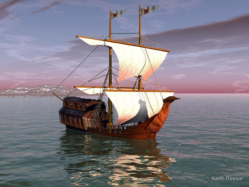 Sailing Onward by Keith Reesor
