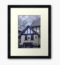 Elizabethen hotel IR Framed Print