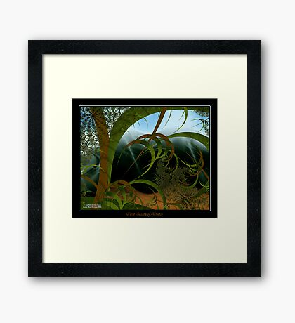 First Breath of Winter Framed Print