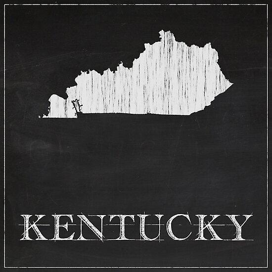 Kentucky - Chalk by FinlayMcNevin