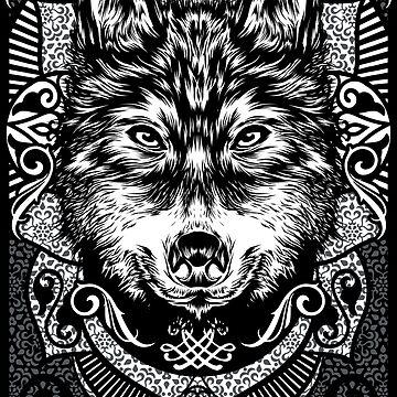 wolf by fazlicakir