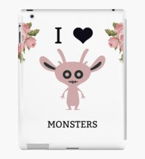 I Love Monsters Series- One iPad Case/Skin