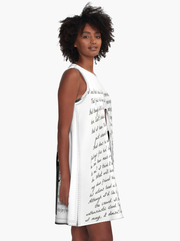 Alternate view of Nightmare Before Christmas A-Line Dress