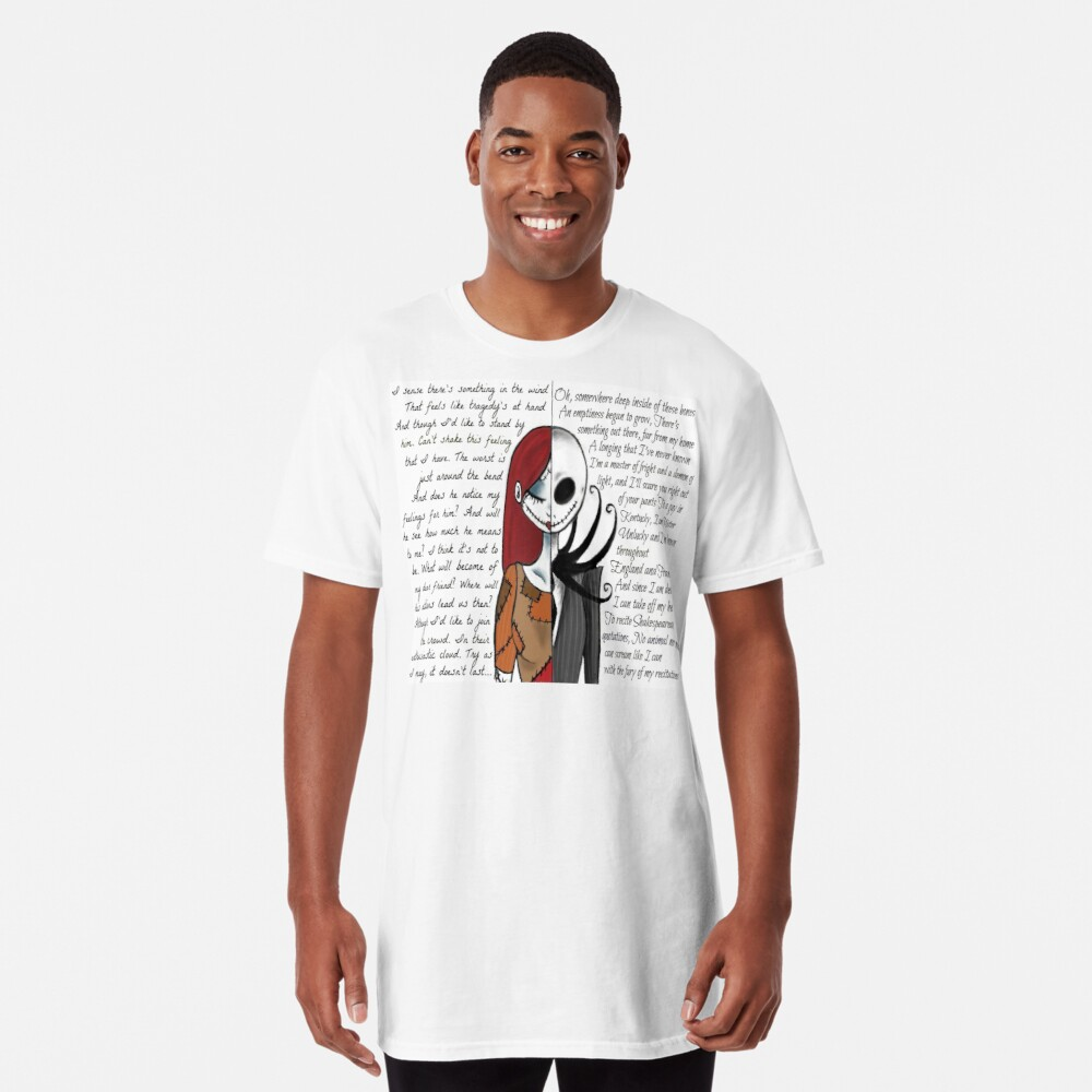 Nightmare Before Christmas Long T-Shirt