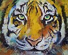 Tiger Psy Trance by Michael Creese