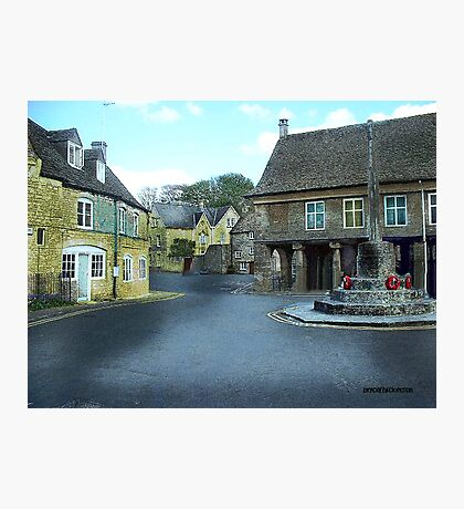 Round About in Minchinhampton Photographic Print