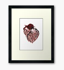 Watercolour Heart  Framed Print