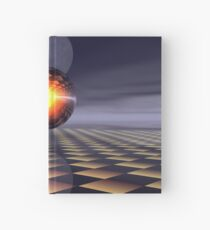 Sphere and Moon Hardcover Journal