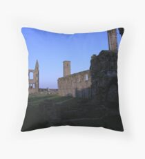 st andrews cathedral Throw Pillow