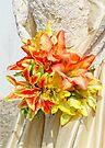The bride had a lily bouquet by Beth Brightman