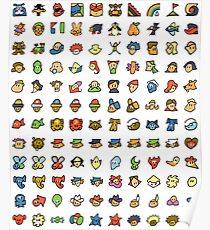 Chat Icons Poster