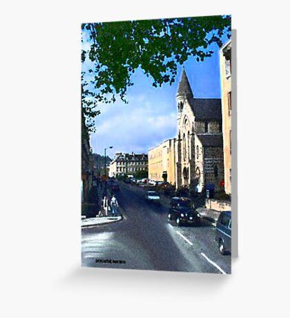 Church in Bath Greeting Card
