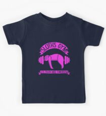 Sloth Fitness Gym Kids Clothes