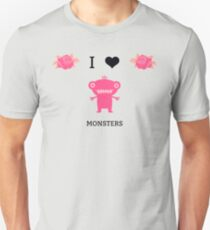 I Love Monsters Series- Four T-Shirt