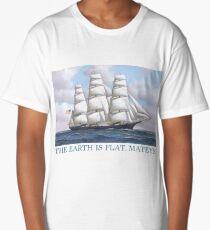 Earth is Flat, Mateys Long T-Shirt