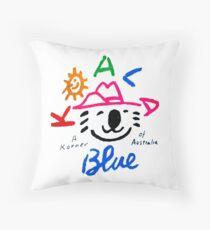 Koala Blue - Olivia Newton-John Throw Pillow