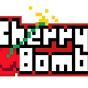 NCT 127- Logotipo de Cherry Bomb Pixel de emanie