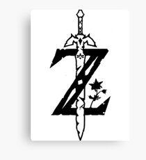 legend zelda Canvas Print