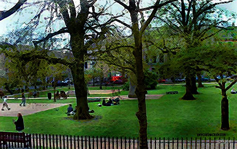 Bath City Green by jpryce