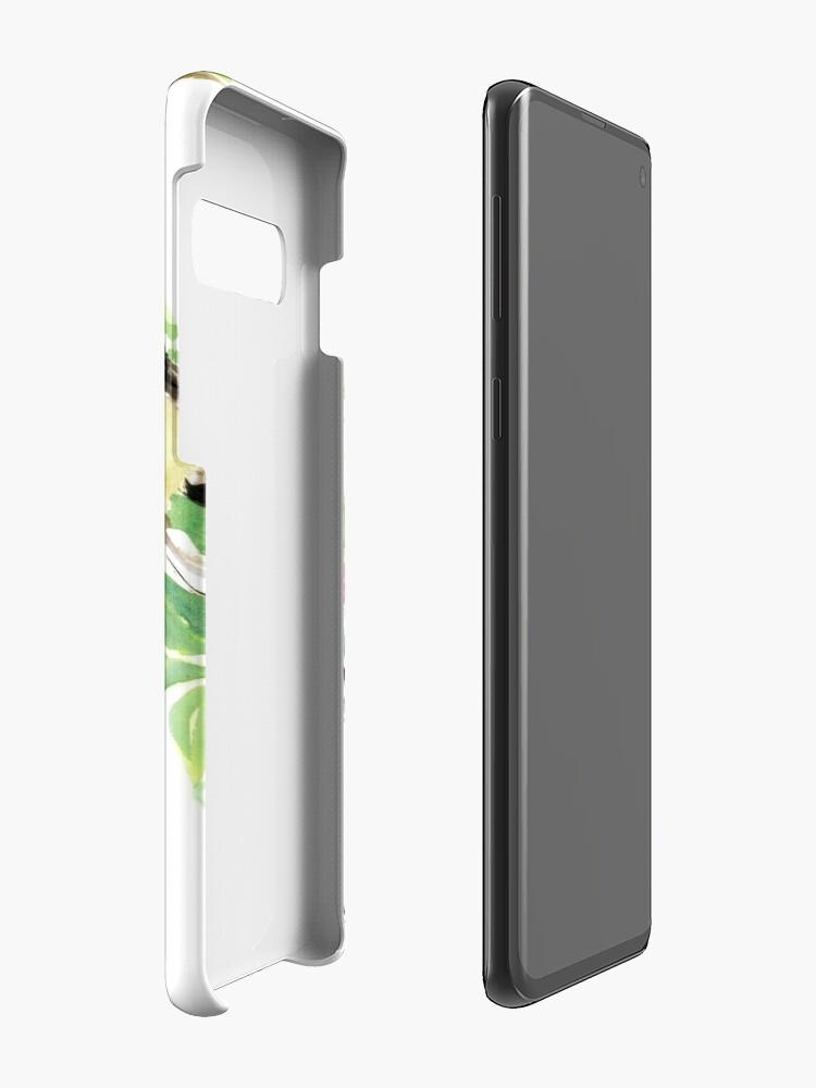 Alternative Ansicht von Spatzen und Apple Blossom Hüllen & Klebefolien für Samsung Galaxy