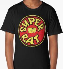 Hodaka Super Rat Air Cleaner Cover DISTRESSED Long T-Shirt