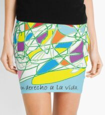 EL COLOR DEL AMOR A LOS ANIMALES Mini Skirt
