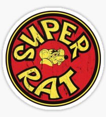 Hodaka Super Rat Air Cleaner Cover DISTRESSED Sticker