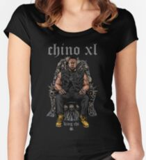 CHINO XL  Women's Fitted Scoop T-Shirt