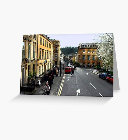 Bath The Cotswold Greeting Card