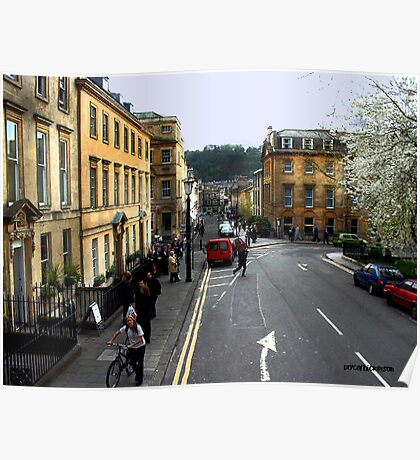 Bath The Cotswold Poster