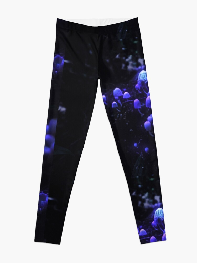 Alternate view of The Glowing Mushrooms Leggings