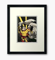 Mighty Mouse Framed Print