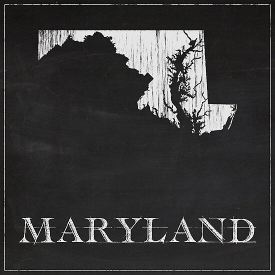 Maryland - Chalk by FinlayMcNevin