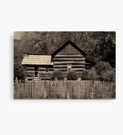 Davis-Queen House II Canvas Print