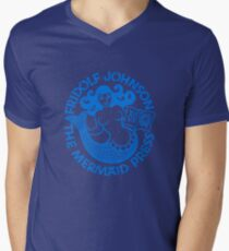 Mermaid Press Mens V-Neck T-Shirt