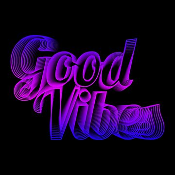Good Vibes Retro by fivetroopers