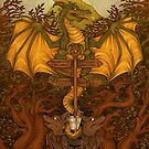 Bisterne Dragon by MishMonster